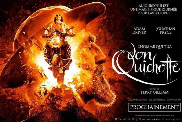 """L'affiche de """"L'Homme qui tua Don Quichotte"""""""