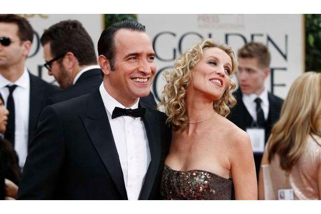 """""""The Artist"""" a obtenu trois Golden Globes, dont celui du meilleur acteur pour Jean Dujardin."""