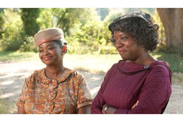 """Octavia Spencer et Viola Davis dans """"La Couleur des sentiments""""."""