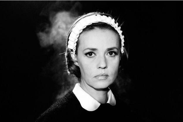 """Jeanne Moreau dans """"Le Journal d'une femme de chambre"""" de Luis Bunuel, diffusé ce soir sur Arte."""