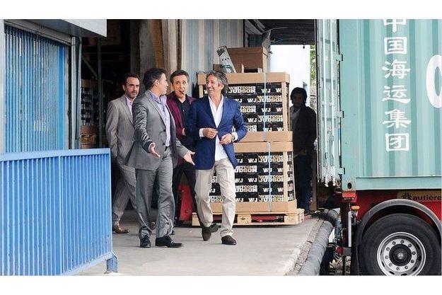 Bruno Solo, José Garcia, Gilbert Melki, Richard Anconina dans «La Vérité si je mens 3».