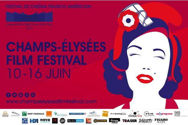 L'affiche du Champs-Elysées Film Festival