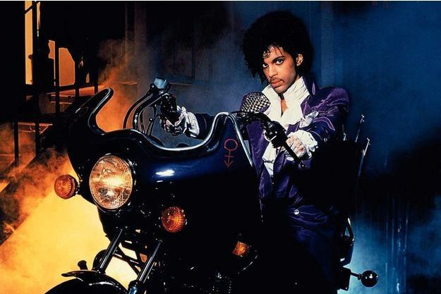 "Prince dans ""Purple Rain"""