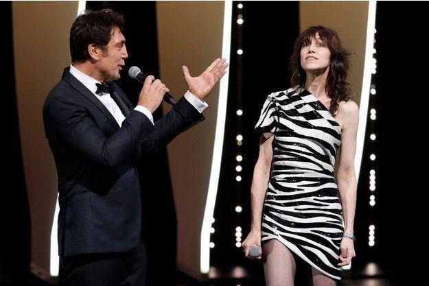 Javier Bardem et Charlotte Gainsbourg ont déclaré ouvert le 72e Festival de Cannes.