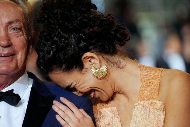 """Udo Kier et Barbara Colen, deux acteurs de """"Bacurau"""" du Brésilien Kleber Mendonça Filho, notre premier coup de coeur du Festival."""