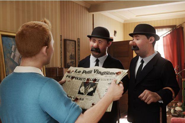 """Le """"Tintin"""" de Steven Spielberg"""