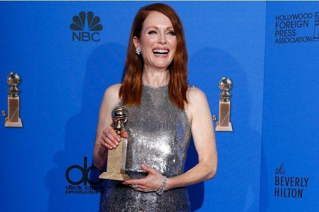 Julianne Moore, favorite des prochains Oscars, a remporté le Golden Globes de la meilleure actrice.