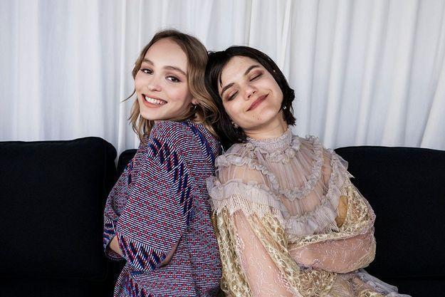 Lily-Rose Depp et Soko