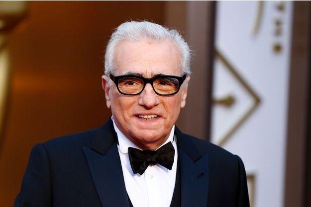 Martin Scorsese aux Oscars 2014.