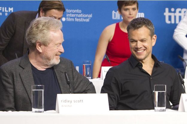 Ridley Scott et Matt Damon