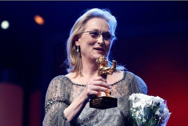Meryl Streep avait reçu un Ours d'or d'honneur en 2012.