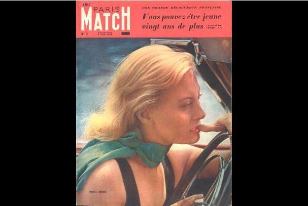 La couverture du numéro 11 de Paris Match.