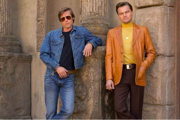 "Brad Pitt et Leonardo DiCaprio sur le tournage de ""Once Upon a Time in Hollywood"""