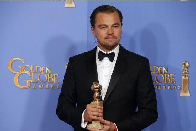 """Leonardo DiCaprio est nominé dans la catégorie meilleur acteur pour """"The Revenant"""""""