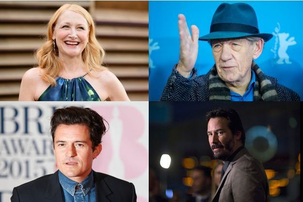 Patricia Clarkson, Orlando Bloom, Ian McKellen et Keanu Reeves.