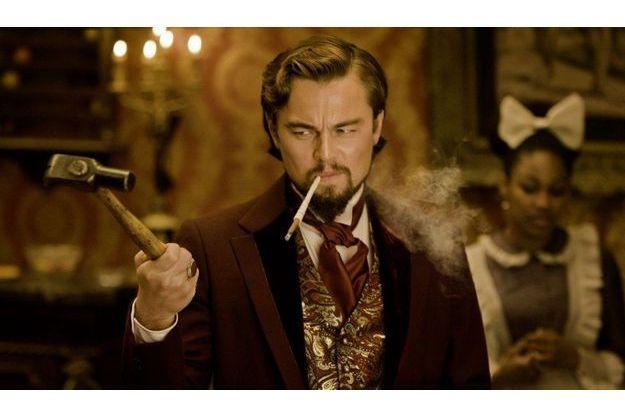 """Leonardo DiCaprio dans """"Django Unchained""""."""