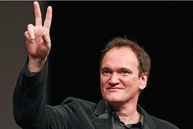 Tarantino reçoit le Prix Lumière à Lyon en octobre 2013