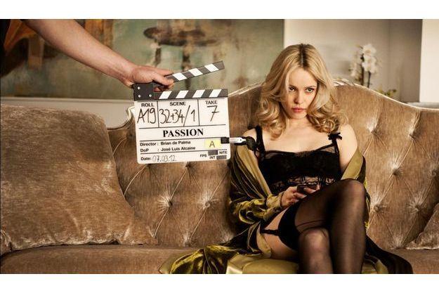 """Rachel McAdam sur le tournage de """"Passion"""""""