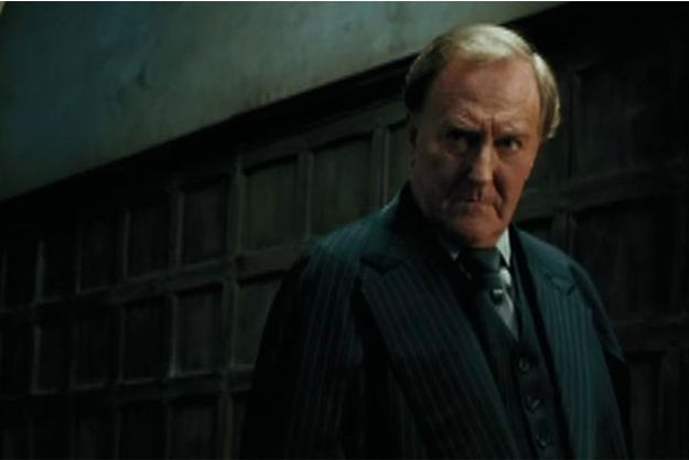 "Robert Hardy dans ""Harry Potter"""