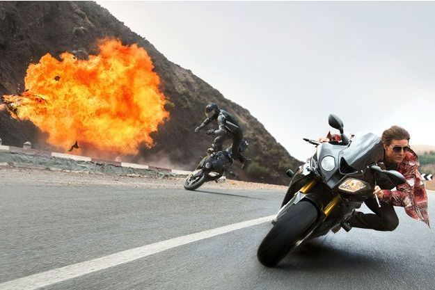 "Tom Cruise dans ""Mission Impossible Rogue Nation"""