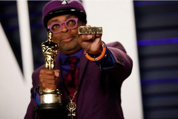 Spike Lee lors de la 91e cérémonie des Oscars.