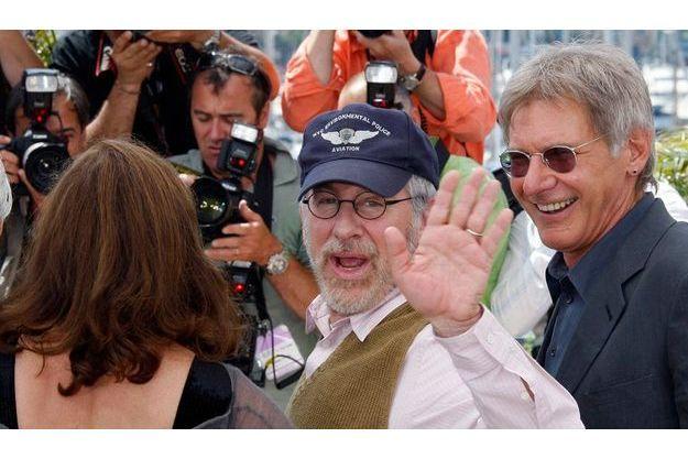 Steven Spielberg à Cannes en 2008.