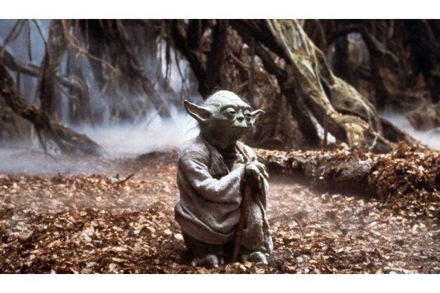 """Le personnage de Yoda dans """"L'Empire contre attaque""""."""