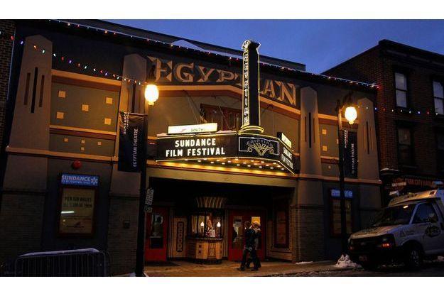 Le fameux Egyptian Theatre de Park City.