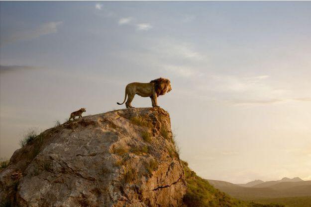 """Une image du """"Roi lion""""."""