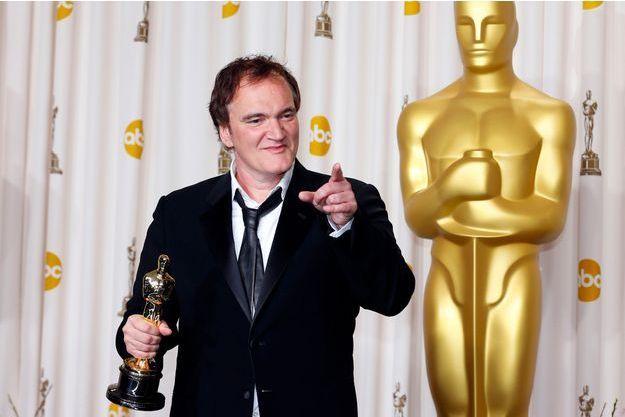 "Quentin Tarantino a obtenu l'Oscar du meilleur scénario original pour ""Django Unchained"""