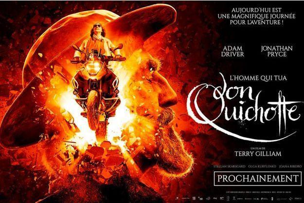 """""""L'Homme qui tua Don Quichotte"""" de Terry Gilliam."""