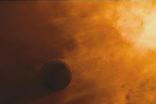 """Une image de """"The Tree of Life"""" de Terrence Malick sur la création du monde."""