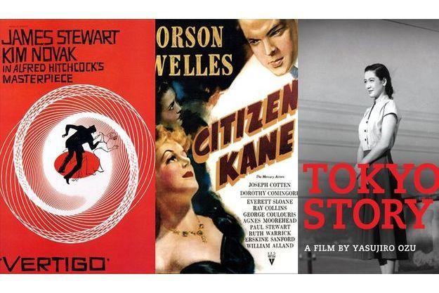 """""""Vertigo"""" d'Alfred Hitchcock détrône """"Citizen Kane"""" d'Orson Welles"""