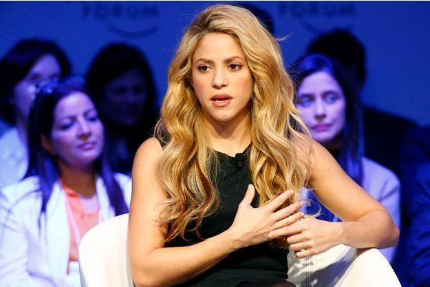 La chanteuse Shakira en janvier dernier.