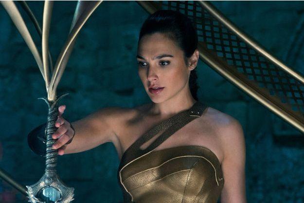 "Gal Gadot dans la peau de ""Wonder Woman""."