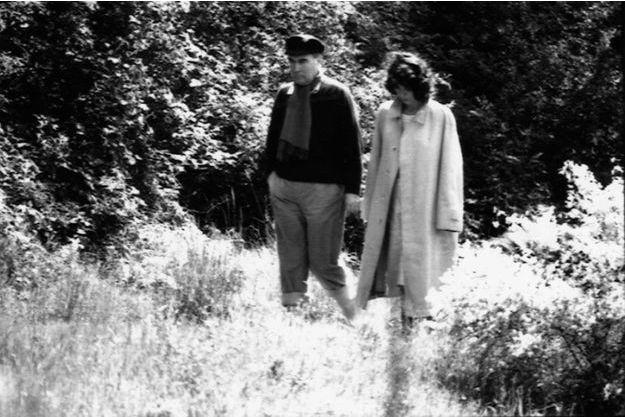 Anne Pingeot et François Mitterrand en 1981.