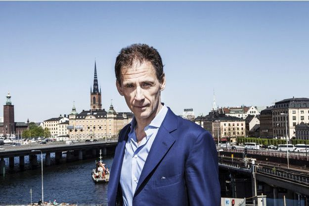 David Lagercrantz, écrivain et journaliste. Auteur de la deuxième trilogie de Millenium. Le 24 mai à Stockholm, Suède.
