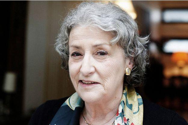 Brigitte Emile-Zola chez elle, à Paris.