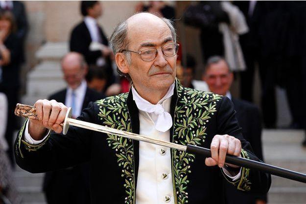 L'académicien François Weyergans, en 2011.