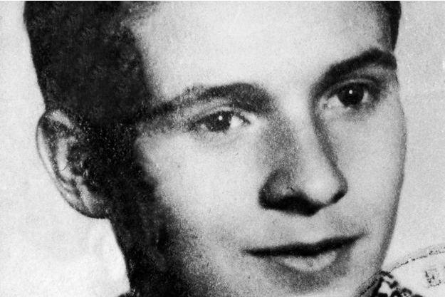 Portrait de Jan Palach en 1965.