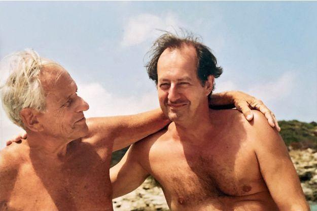 En 2012, à Saint-Florent, en Corse, où ils partageaient tous leurs étés depuis 1983.