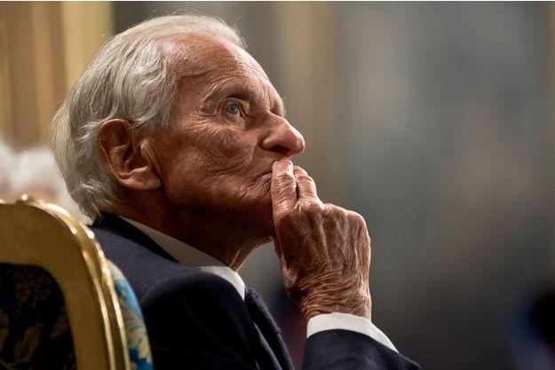 Jean d'Ormesson est mort dans la nuit de lundi à mardi à 92 ans.