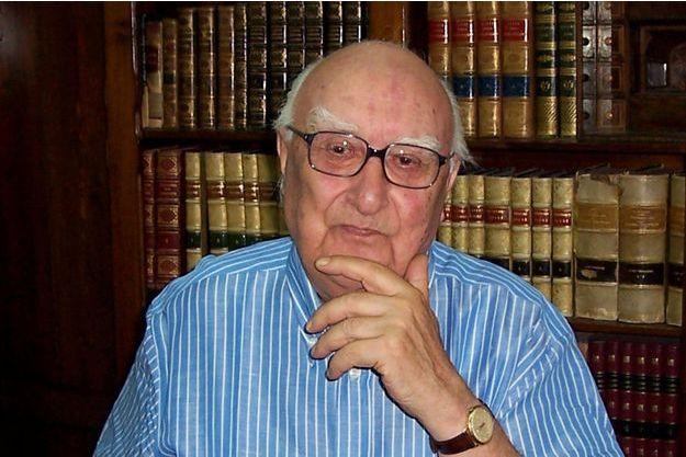 L'écrivain sicilien Andrea Camilleri.