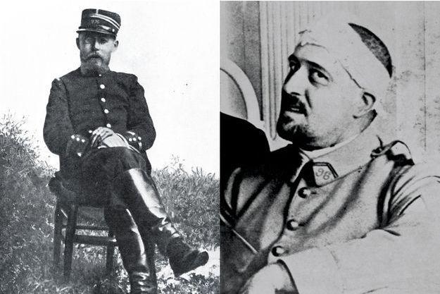 Charles Péguy et Guillaume Apollinaire.