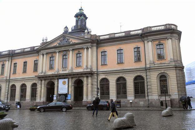 L'académie suédoise, le 3 mai.