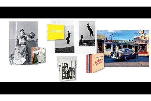 « Manuel Alvarez Bravo. L'impalpable et l'imaginaire », « Jacques Henri Lartigue. L'album d'une vie », « Les grands photographes », de Robert Koch, « William Eggleston : Los Alamos revisited »