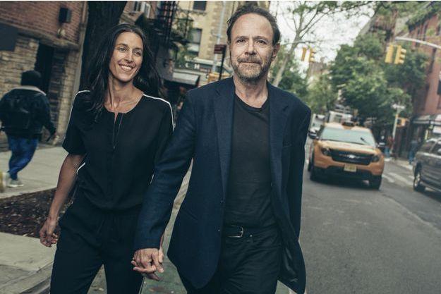 Le 9 mai, dans le quartier de SoHo à New York où ils vivent.