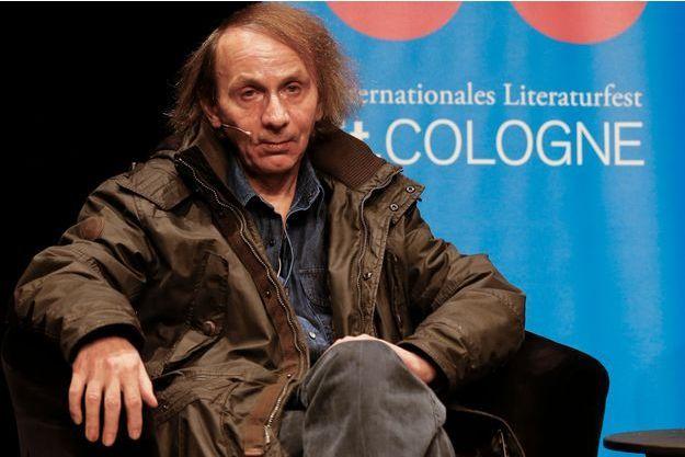 Michel Houellebecq, à Cologne, lundi soir.