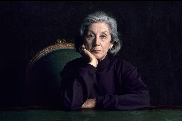 Nadine Gordimer, à Paris, en 2003.