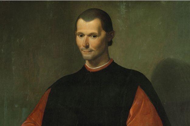 Portrait de Nicolas Machiavel par Santi di Tito.